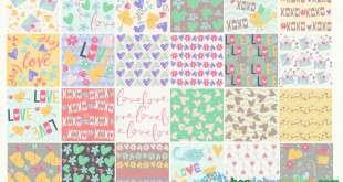 pattern trái tim