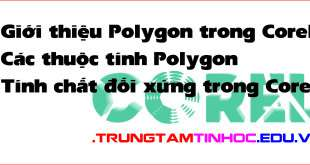 Polygon trong corel