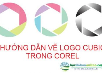 Ve logo cubic trong corel