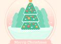1631678640 98 Tao Cay thong Noel trong Qua cau thuy tinh trong